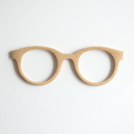 シデの調整眼鏡 / Wood Fit Regulator 'Hornbeam'