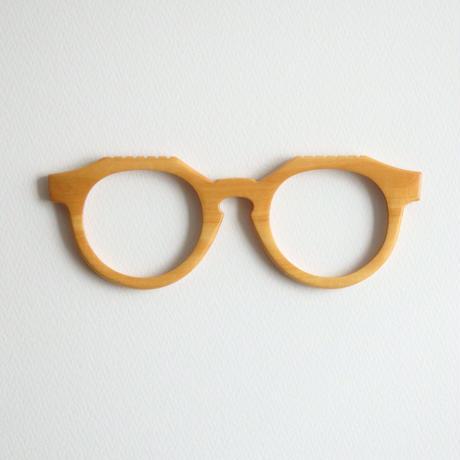 ツゲの調整眼鏡 / Wood Fit Regulator 'Boxwood'