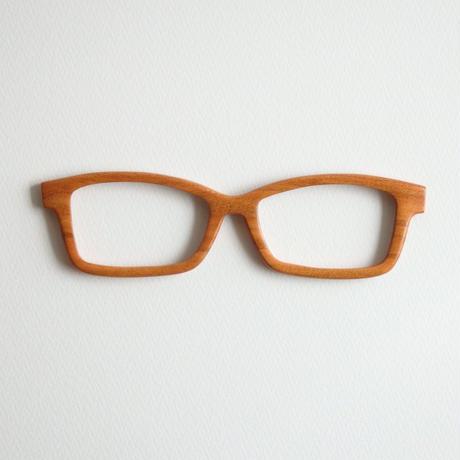 ソメイヨシノの調整眼鏡 / Wood Fit Regulator 'Yoshino cherry tree'