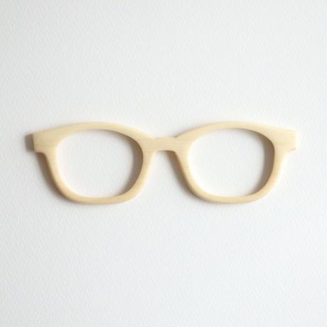 ソヨゴの調整眼鏡 / Wood Fit Regulator 'Longstalk holly'