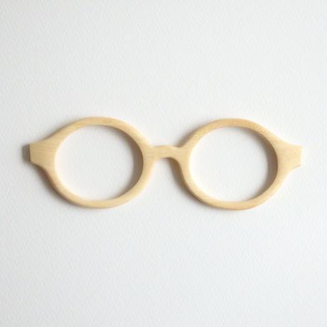 キンモクセイの調整眼鏡 / Wood Fit Regulator 'Fragrant olive'