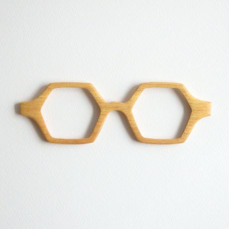 フジキの調整眼鏡 / Wood Fit Regulator 'Yellowwood'