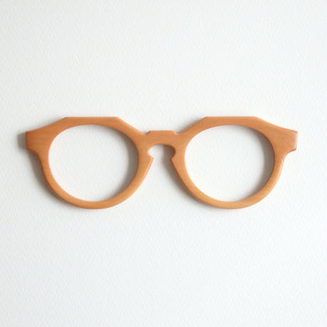 ナシの調整眼鏡 / Wood Fit Regulator 'Pear'
