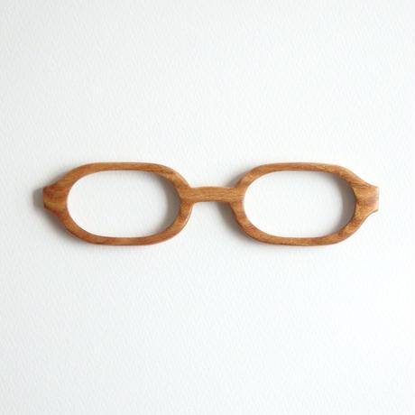エンジュの調整眼鏡 / Wood Fit Regulator 'Japanese pagoda tree'