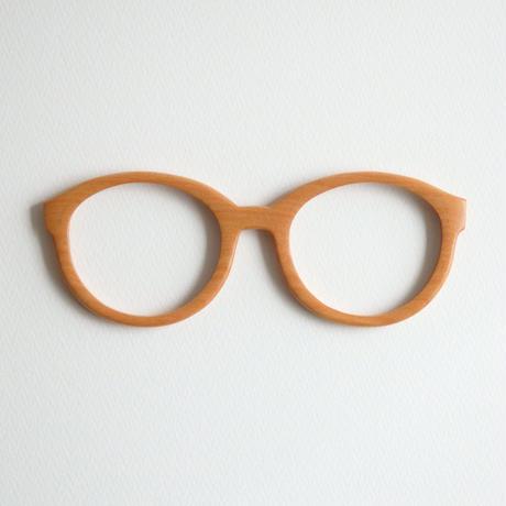 カバの調整眼鏡 / Wood Fit Regulator 'Birch'