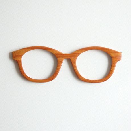 ケヤキの調整眼鏡 / Wood Fit Regulator 'Zelkova'