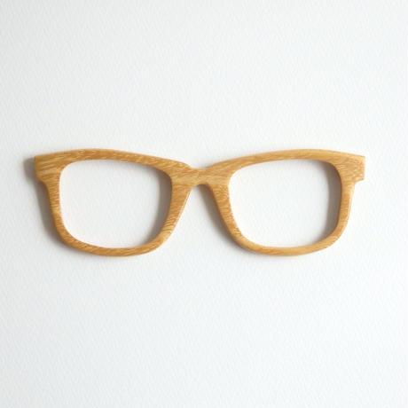 ニセアカシアの調整眼鏡 / Wood Fit Regulator 'Black locust'