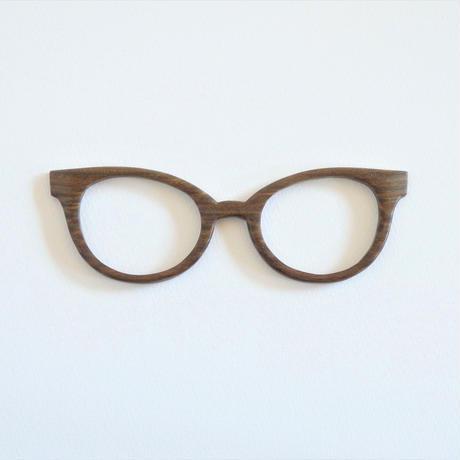 パロサントの調整眼鏡 / Wood Fit Regulator 'Palo Santo'