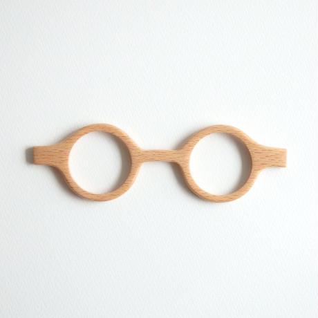 ブナの調整眼鏡 / Wood Fit Regulator 'Japanese beech'