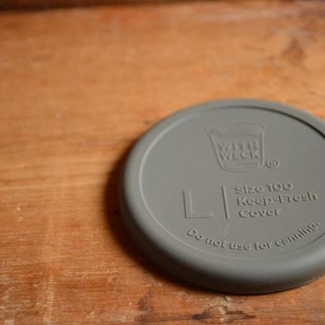 WECK Silicone Cap (シリコンキャップ オリーヴグレー)L