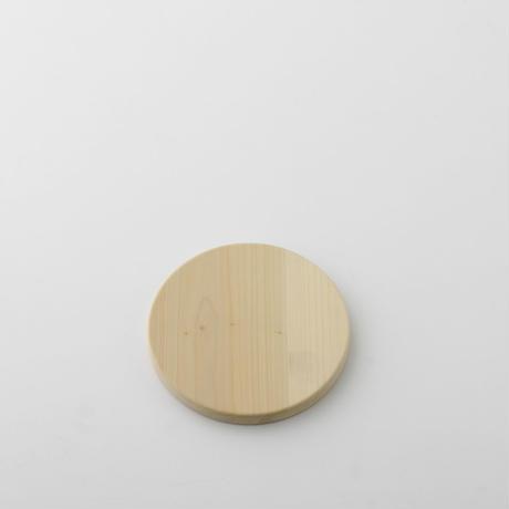 【お取り寄せ】woodpecker(福井賢治さん) いちょうの木のまな板 まん丸