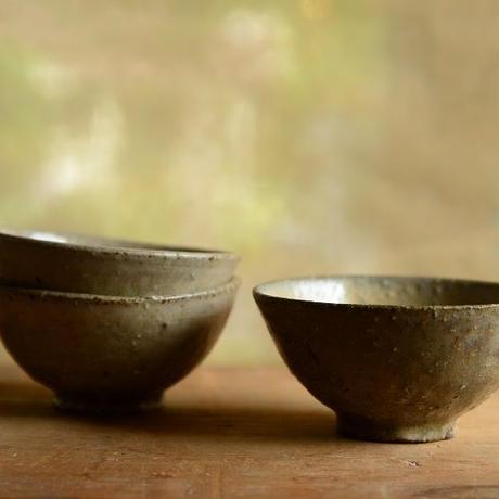 長野大輔さん 灰釉粉引 飯茶碗 小(26-30)