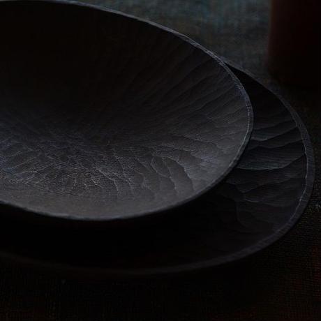 宮下敬史さん  栓の楕円皿  小