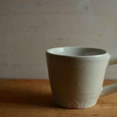 壷田和宏さん  白磁マグカップ