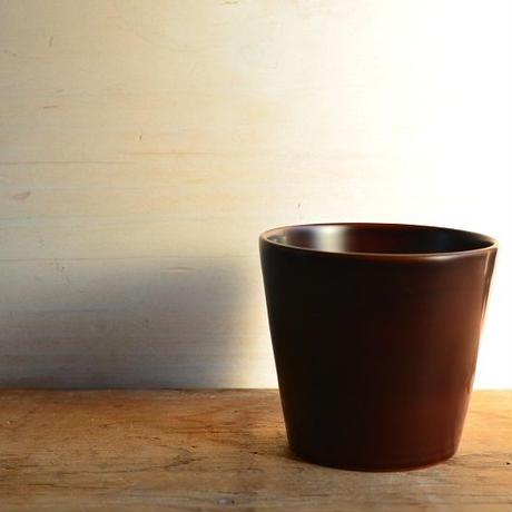 小林慎二さん コーヒーカップ(白溜)