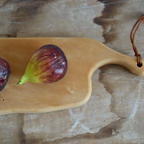 【在庫あり】woodpecker(福井賢治さん) いちょうの木のまな板 ロング