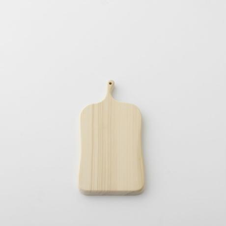 【お取り寄せ】woodpecker(福井賢治さん) いちょうの木のまな板 中5