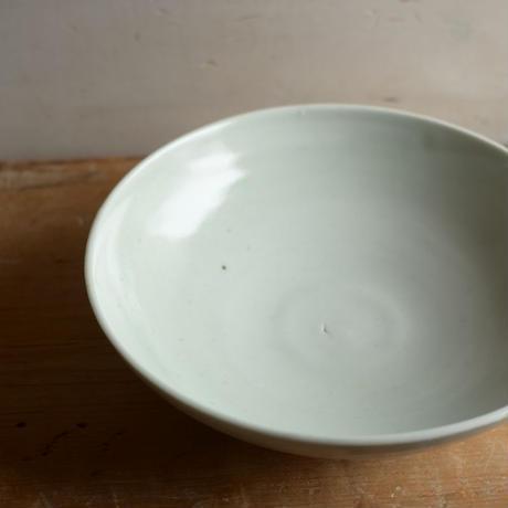 高田谷将宏さん 白磁6寸鉢
