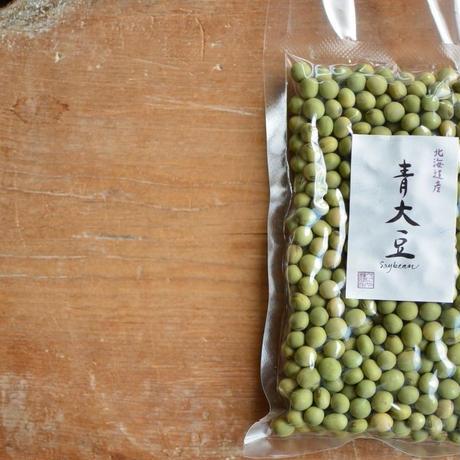 【旧豆sale】べにや長谷川商店  北海道産 青大豆 (1Kg)