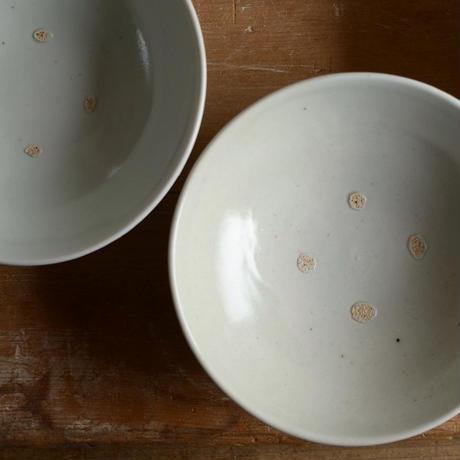 高田谷将宏さん 白磁5寸浅鉢