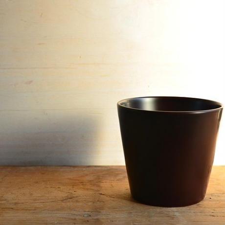 小林慎二さん コーヒーカップ(赤溜)