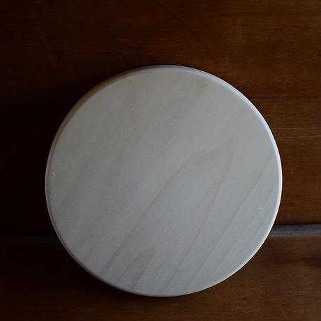 【在庫あり】woodpecker(福井賢治さん) いちょうの木のまな板 まん丸