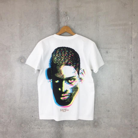 ■DOTmanColorHeads■3DHEAD■WH■S/STshirt