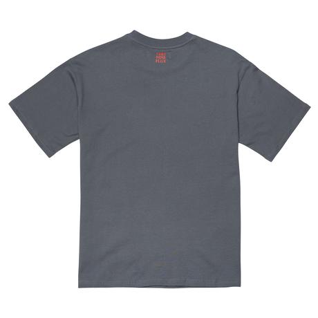 『Verynineflux』  ラウンド  Tシャツ (Charcoal)