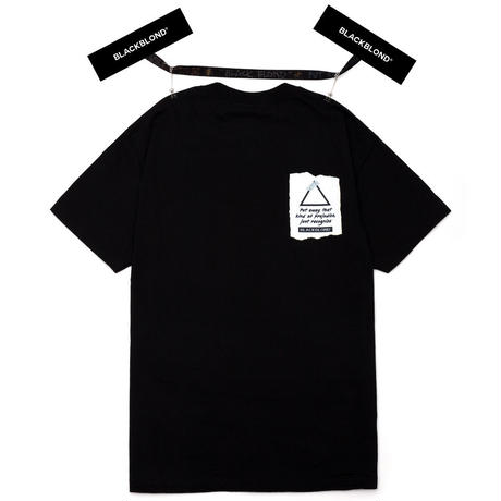 『BLACKBLOND』  マーベリック半袖 Tシャツ (Black)