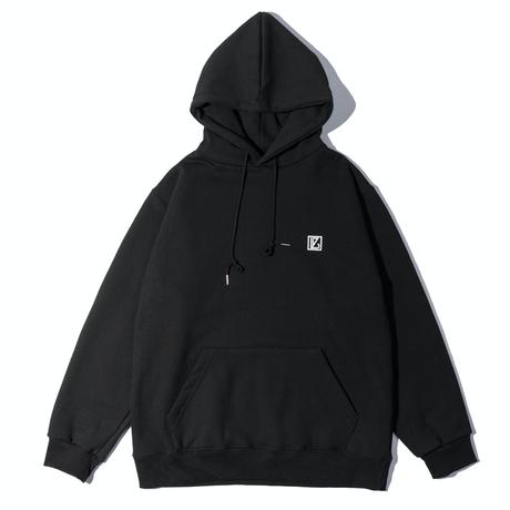 『 BY.L 』    ロゴフードパーカー (Black)