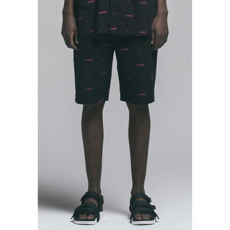 Verynineflux INTERSECT SHORT PANTS  (Black)