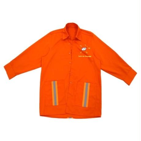 Swallowtale Double pocket refective taped Shirts (Orange)