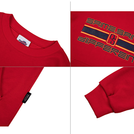 Motivestreet SLOGAN SWEAT SHIRT (Red)