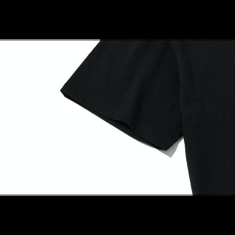 『grooverhyme』  NYC ロケーションマルチカラー Tシャツ (Black)