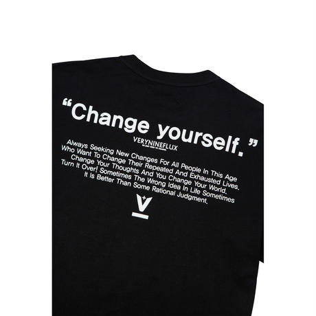 Verynineflux NINTH T-SHIRT (Black)