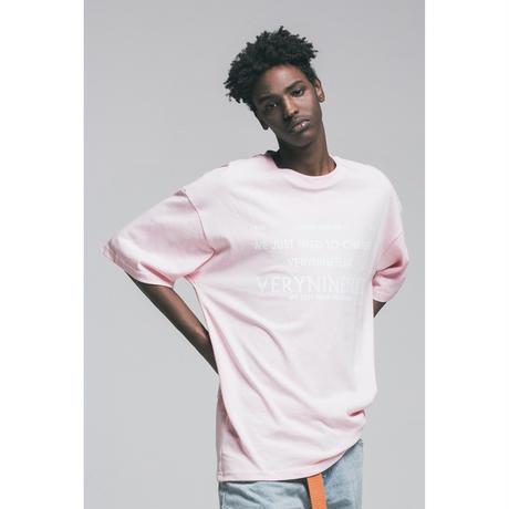 Verynineflux NUMBER 9 T-SHIRT  (Pink)