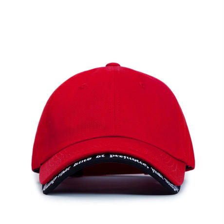 Blackblond BBD Revolution Double Visor Cap (Red)