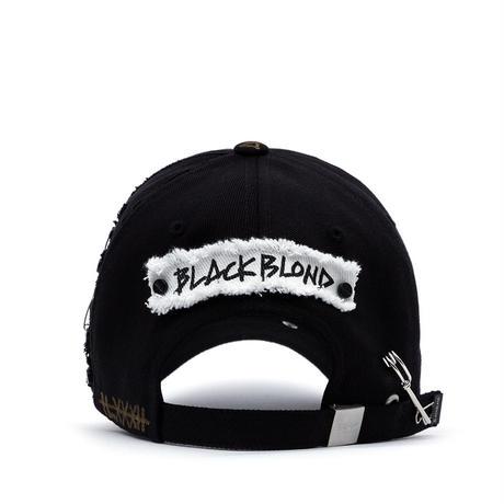 『BLACKBLOND』  マーベリックパッチキャップ (Black)