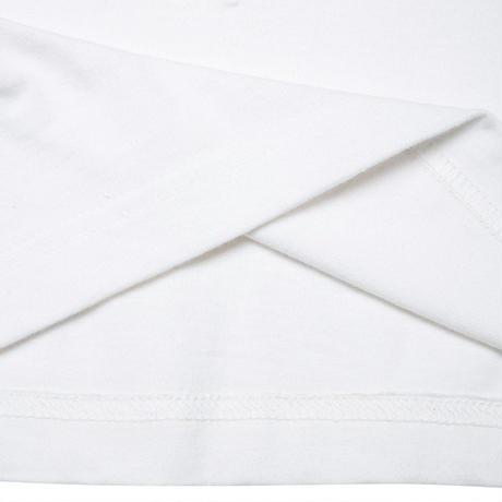 『Verynineflux』  オーバル  Tシャツ (White)
