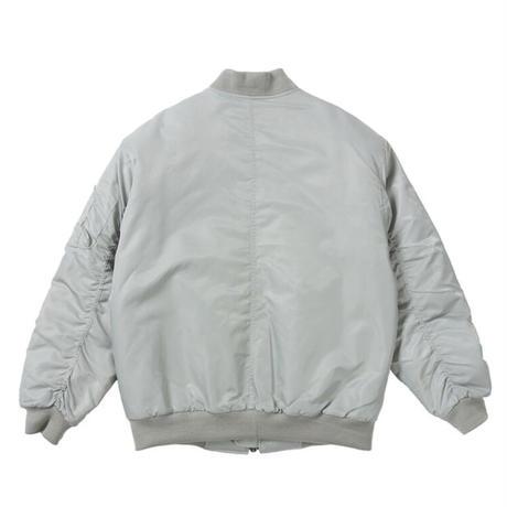 『 BY:L 』  マルチポケットオーバーサイズMA-1  (Grey)