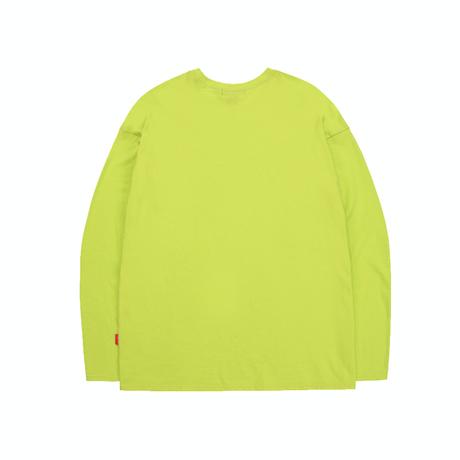 『TRIPSHION』  トリプルゼントルマンロング Tシャツ (Orange)