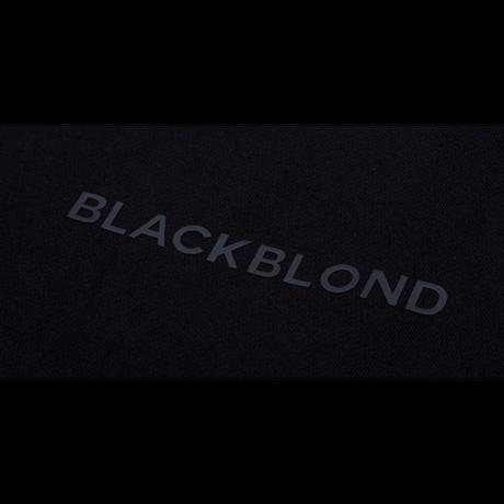 『BLACKBLOND』  グラフィティーロゴスウェットパンツ (Black)