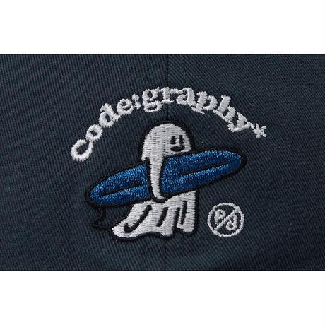 『Code:graphy』  CGP X PD ゴーストサーファー キャップ (Navy)