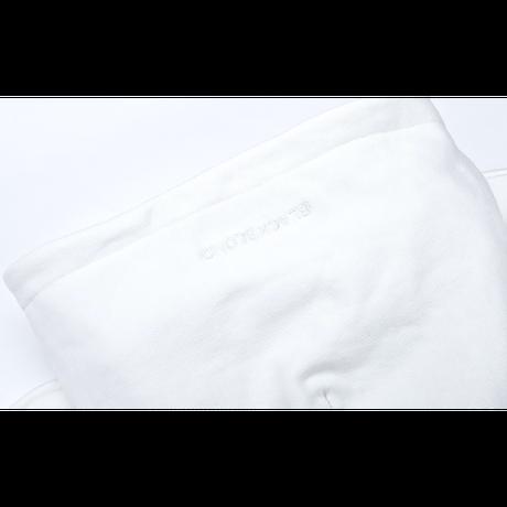 『BLACKBLOND』  カバードロゴパーカー (White)