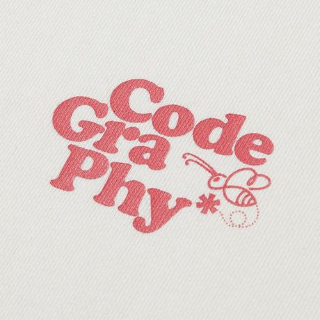 『Code:graphy』  プラネットツリースウェット (Cream)