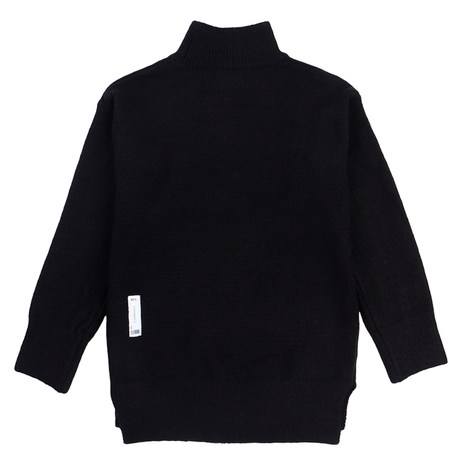 BY.L MOCK NECK ニット (Black)