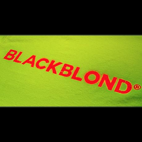 『BLACKBLOND』  クラシックススプレーロゴ半袖 Tシャツ (Neon)