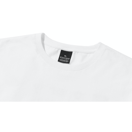 『grooverhyme』  NYC ロケーションマルチカラー Tシャツ (White)