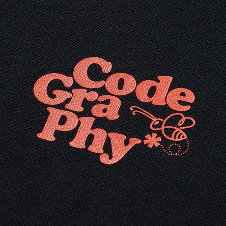 『Code:graphy』  プラネットツリースウェット (Black)