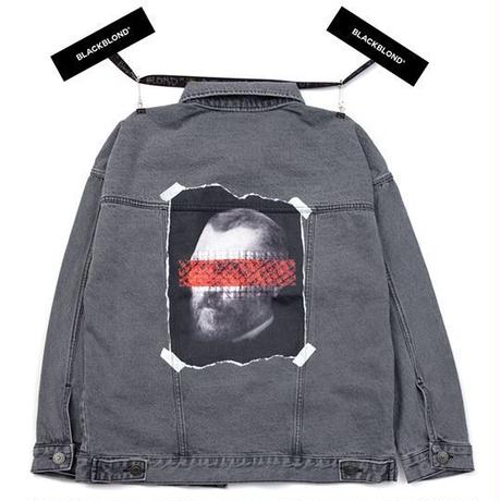 『BLACKBLOND』 ブルータルデニムジャケット (Dark Grey)